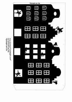 Pipowagen aan Zee: DIY Free download tealight cover *Sinterklaas Lichtje*