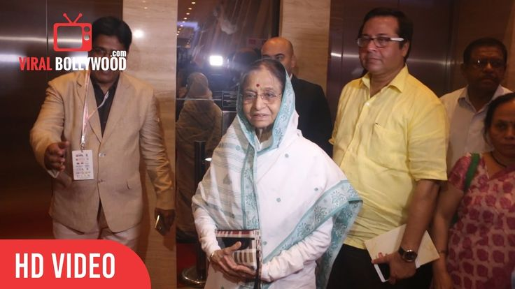 Pratibha Patil Former President Of India At Lokmat Maharashtrian Of The Year Awards – 2017