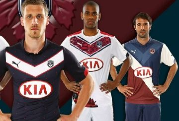 Girondins de Bordeaux 2014/15 PUMA Away and Third Kits