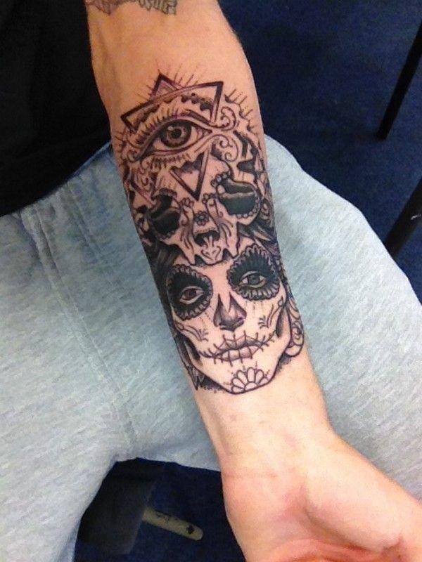 22-tatuagem-masculina-braco-caveira-mexicana