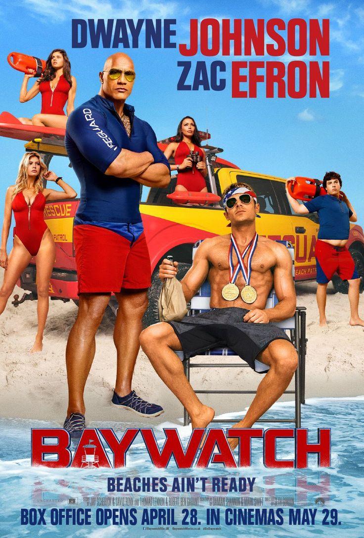 "Baywatch (2017) tagline: ""Beaches ain't ready"" directed by: Seth Gordon starring: Dwayne Johnson, Zac Efron, Alexandra Daddario, Kelly Rohrbach"