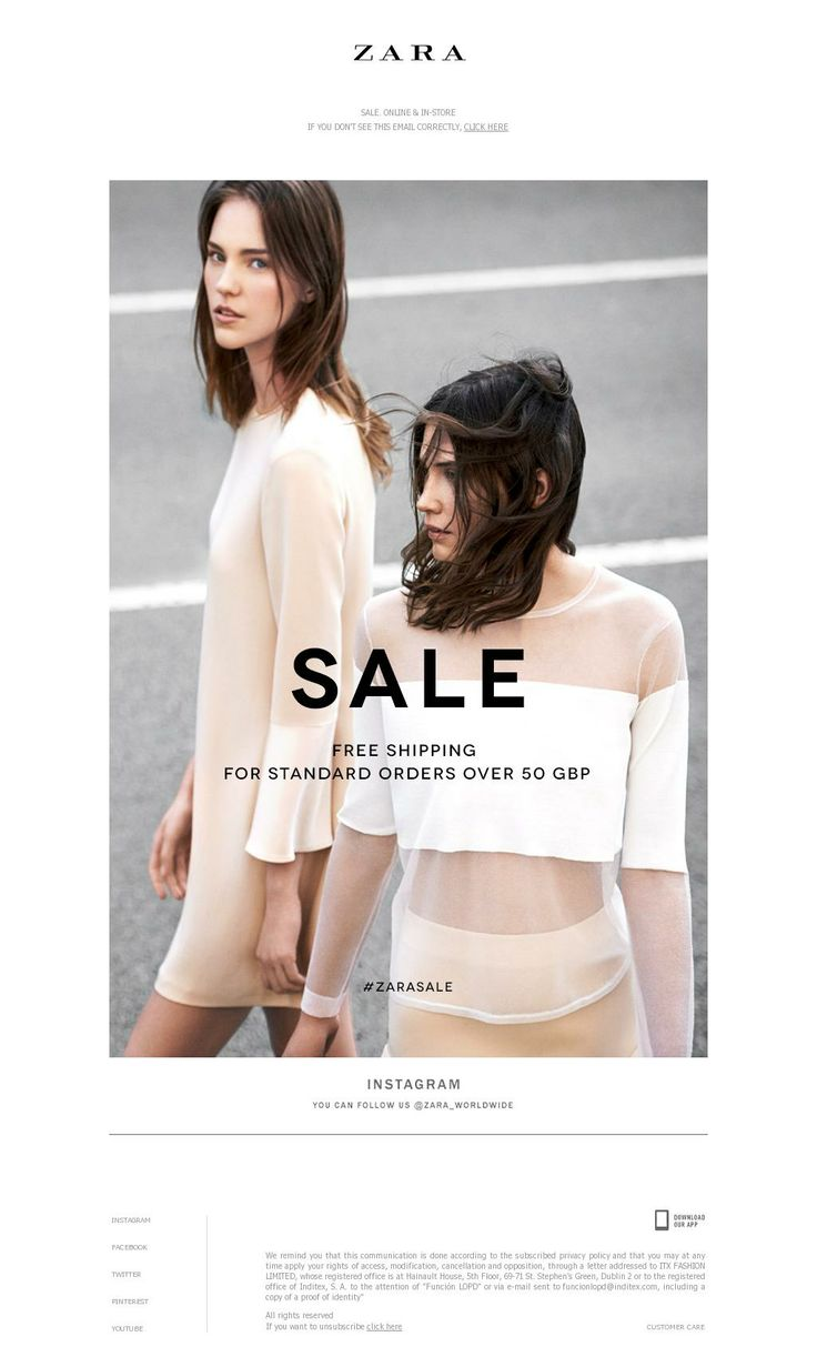 Zara poster design - Having Sales Instore Attracts Customers To Look At The Deals You Are Offering This Gains