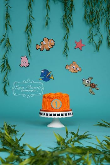 I love this Nemo cake smash set  and can't wait to see Finding Dory next year! :o)