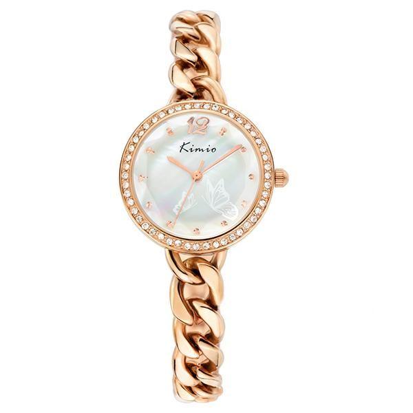 Kimio KW6035S-RG01 Reloj de pulsera diamantes Cuarzo