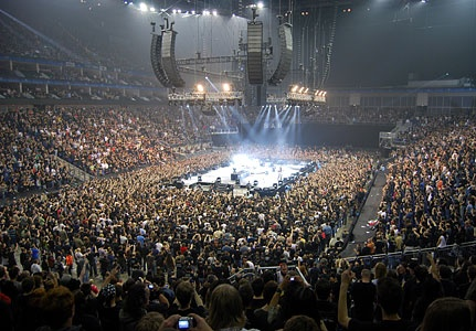 Magisk!!!!!    Metallica Death Magnetic, O2 arena - London 2009