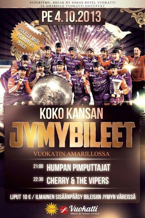 Jymybileet / Jymy Party flyer