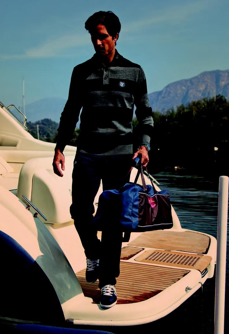 La collezione uomo per l'autunno/inverno 2012 ti aspetta su www.navigare.eu!