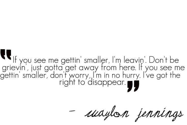 Waylon always be sayin it right