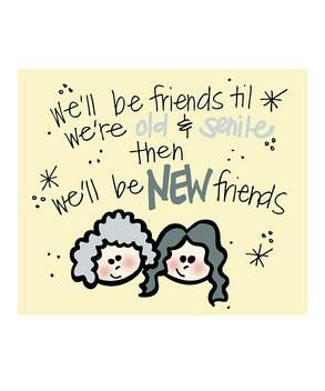 Old friendsDoodles Art, Quotes, Friends Art, Bff, Art Prints, Funny, Old Friends, New Friends, Doodle Art
