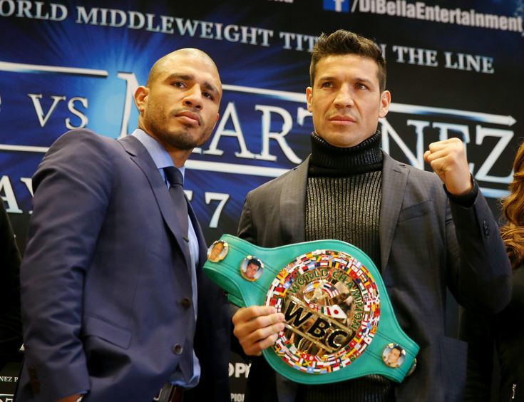 Miguel Cotto in Miguel Cotto and Sergio Martinez News Conference