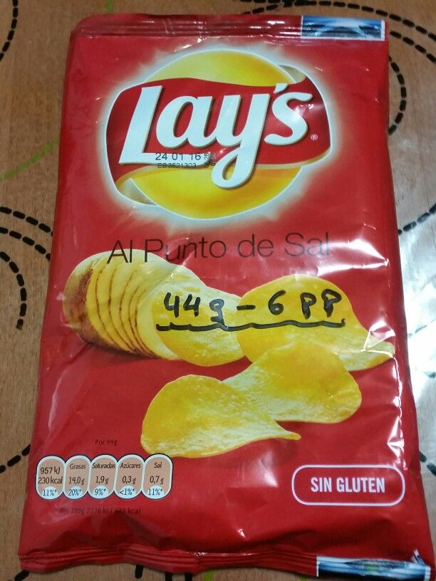 Patas fritas Lay's Todo 6 pp
