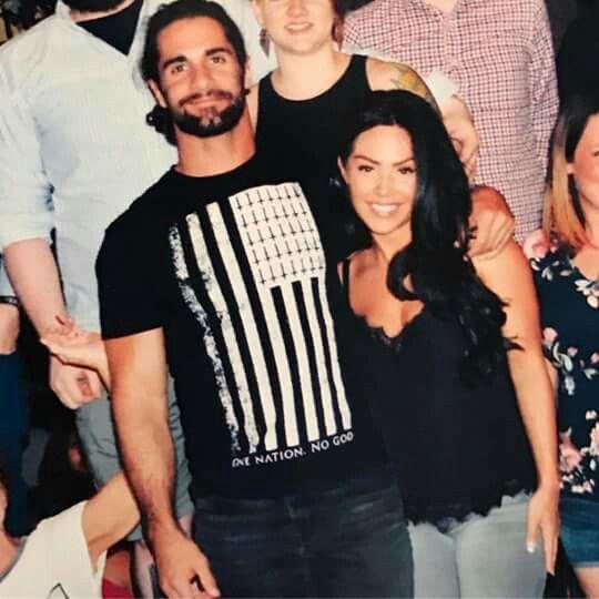 Seth Rollins y su Novia Dick27Ambrose