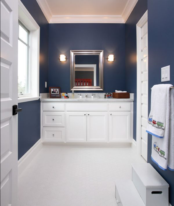 19 best images about navy and yellow bathroom on pinterest open frame rugby and yellow mirrors. Black Bedroom Furniture Sets. Home Design Ideas