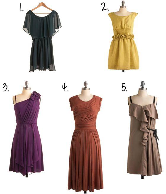 Best 25+ Autumn bridesmaid dresses ideas on Pinterest ...