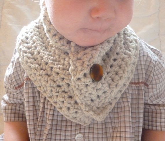 SALE Crochet Baby Cowl, Neck warmer, FREE SHIPPING Scarf ...