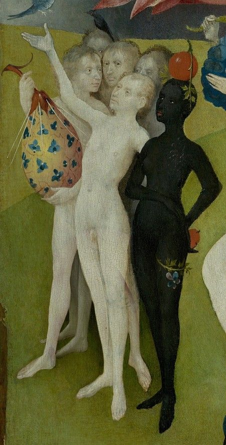 Détail du triptyque Le Jardin des Délices, par Jheronimus Bosch