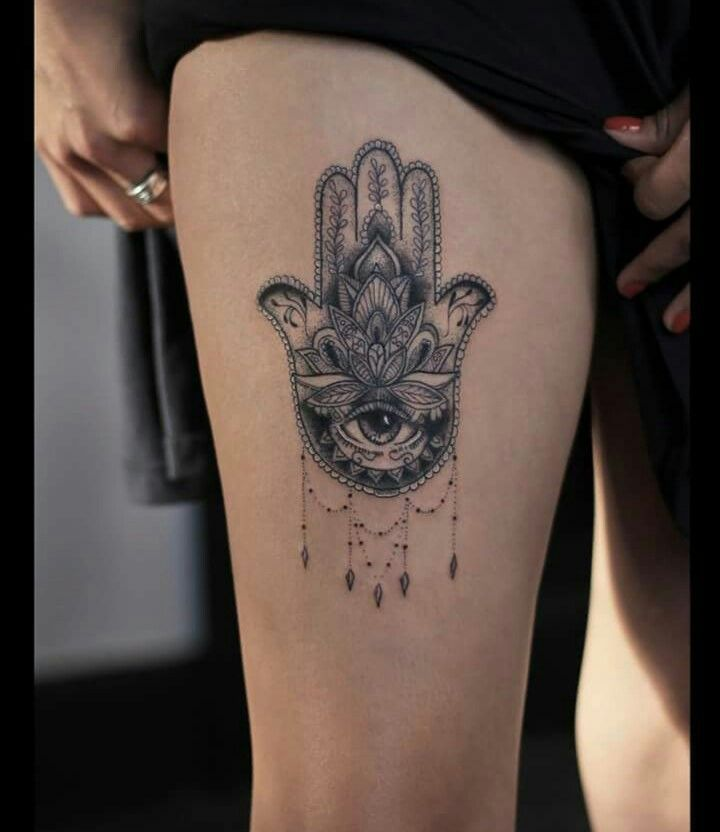 Evil Eye Tattoo: Best 25+ Hamsa Tattoo Placement Ideas On Pinterest