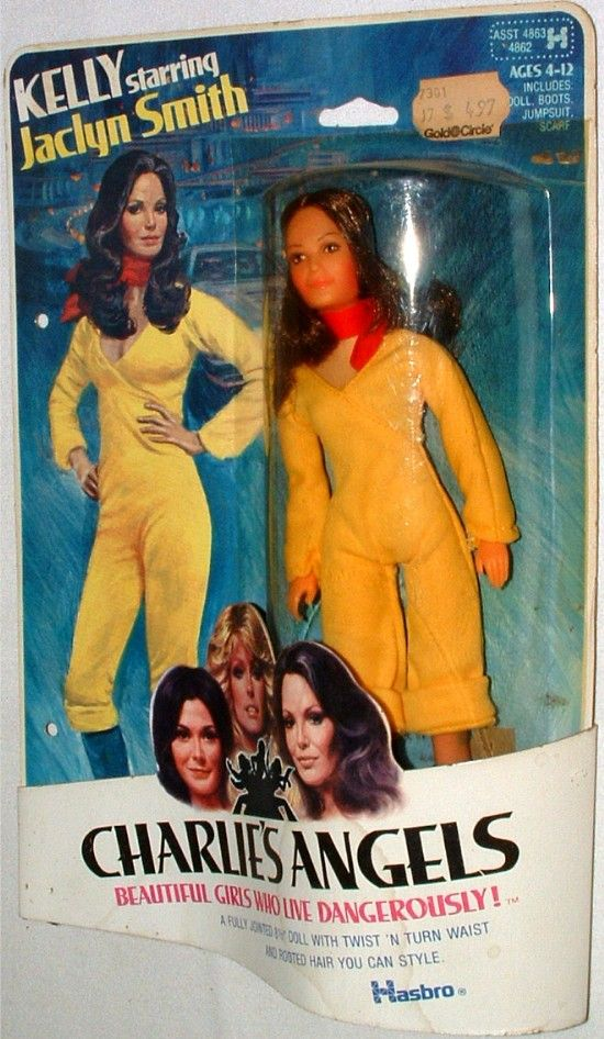 HASBRO: 1977 Charlie's Angels KELLY doll (Jaclyn Smith) #Vintage #Toys