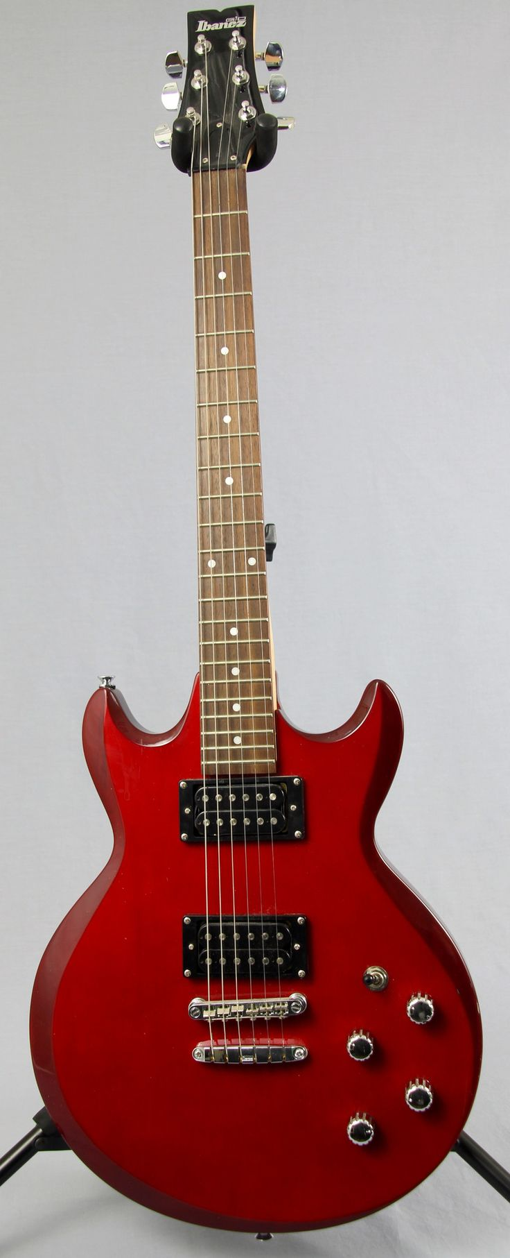 Used Ibanez Gio Gax Electric Guitar Red Finish Music