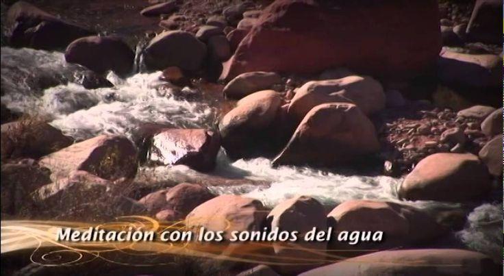 Dia 4. Curso de Meditación. Reiki Sin Fronteras. Meditación con los sonidos del agua - YouTube