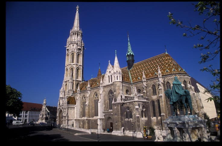 Budapest | Matthias Church with Zsolnay ceramics & roof tiles. view on Fb https://www.facebook.com/BudapestPocketGuide  credit: BTH #budapest #zsolnay #porcelain #ceramics #tiles