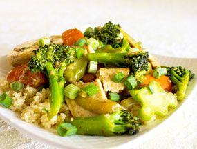 Sour Veggie Stir Fry, sample recipe from The Veggie Queen's Vegetables ...