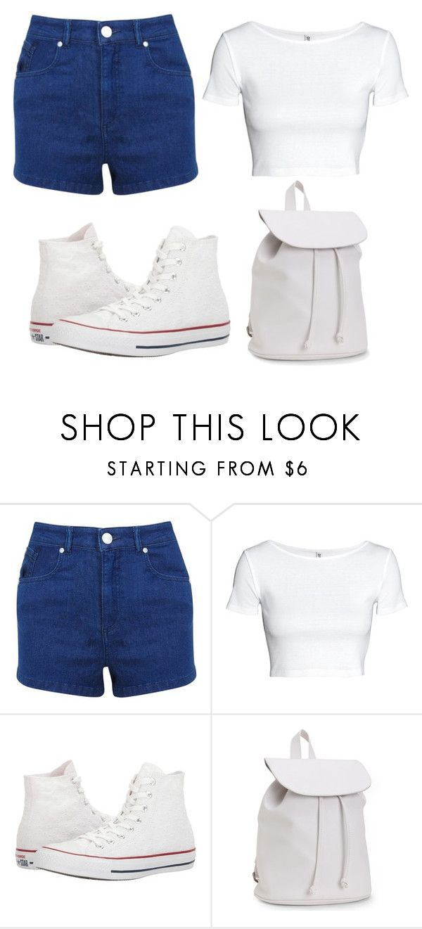 """Untitled #51"" by iamalyceparis on Polyvore featuring Miss Selfridge, Converse and Aéropostale"