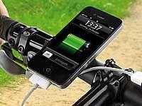 revolt Fahrrad-Dynamo-Ladegerät für Navi, iPhone, Smartphone & Co (Bild 2)