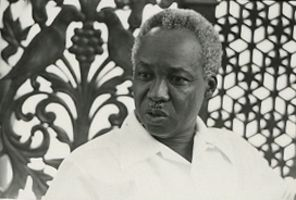 Julius Nyerere, President of Tanzania from 1964-1985