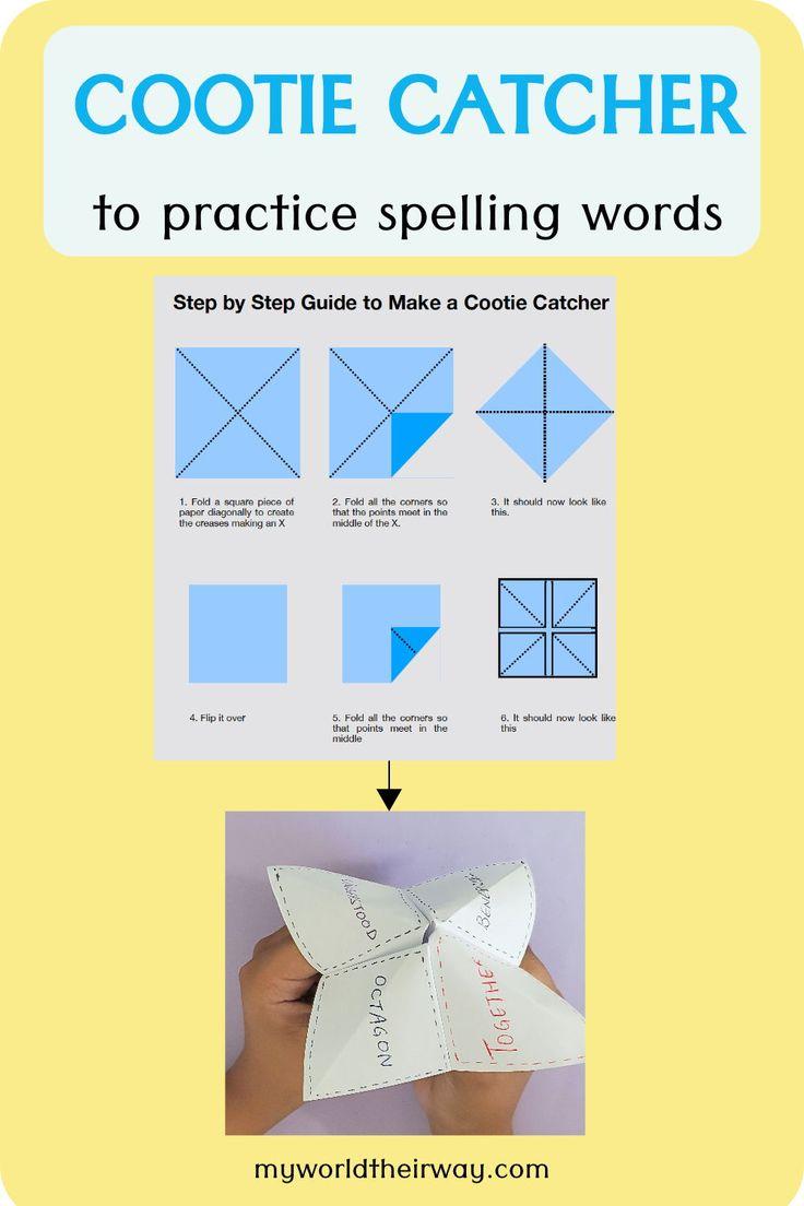 Fun way to practice spelling words | Practice spelling ...