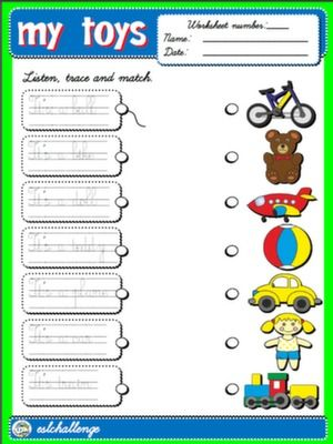 #TOYS - WORKSHEET 1