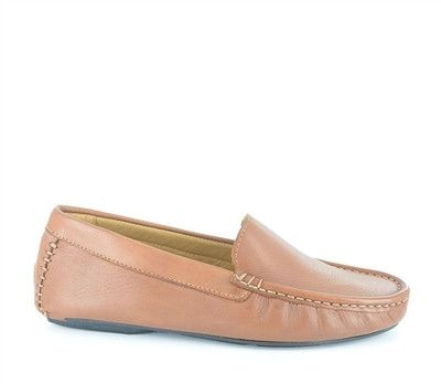 Move through your day with an air of sophistication in a pair of soft,  fashionable and easy to wear, rich leather Gazinga moccasins.