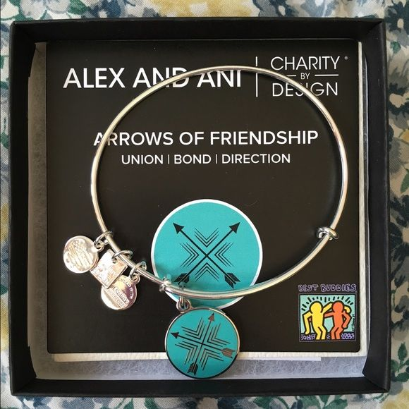Alex and Ani Arrows of Friendship Brand new Alex and Ani Bracelet never worn in perfect condition! Alex & Ani Jewelry Bracelets