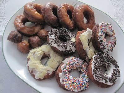 Gluten Free Doughnuts!  (have to try these with egg replacer): Free Yeast, Gluten Free Doughnuts, Mennonit Girls, Gluten Fre Yeast, Gluten Free Donuts, Gf Doughnut, Yeast Doughnut, Yeast Donuts, Www Mennonitegirlscancook As