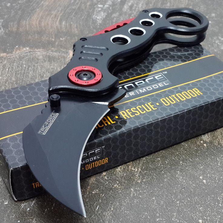 TAC FORCE Spring Assisted Pocket Knives