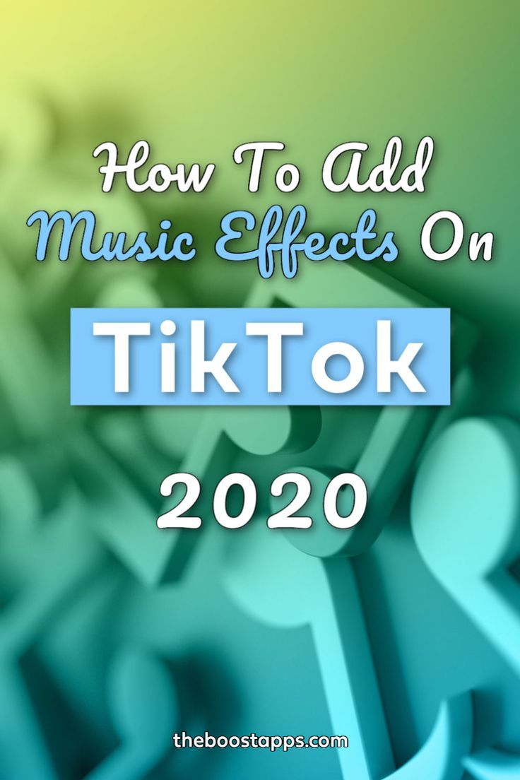 How To Add Music And Effects To Your Tiktok Videos Boosted Add Music Marketing Strategy Social Media Video Marketing
