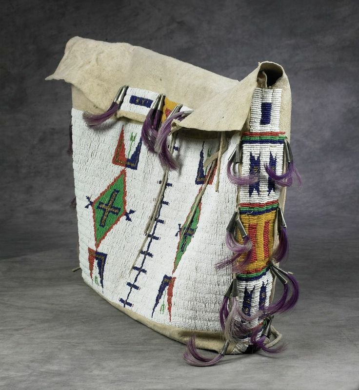 Sioux Beaded Possible Bag - High Noon Western Americana