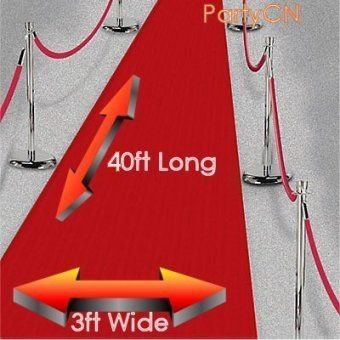 Large 40ft Red Carpet Decoration Award Nights Party