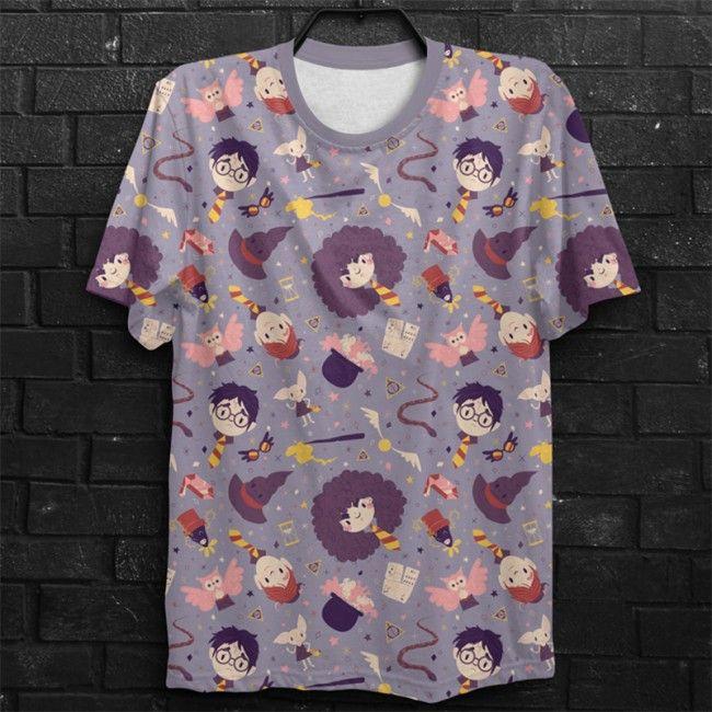 Camiseta  Harry Potter Cute