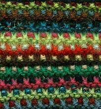 #Knitting_Stitch - Mosaic Garter Stitch - a simple stitch with great visual appeal from knitting-and.com.