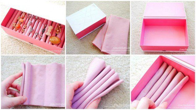10 Great DIY Jewelry Box Ideas