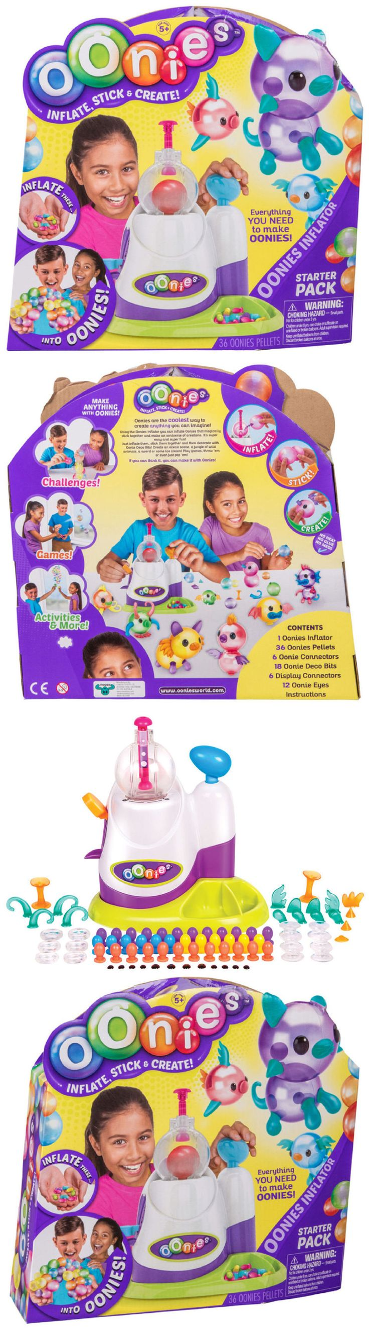 Other Kids Crafts 28145: Oonies Inflator Starter Kit Pack Inflate Balls Bubbles Balloons Moose Toys 2017 -> BUY IT NOW ONLY: $49.99 on eBay!