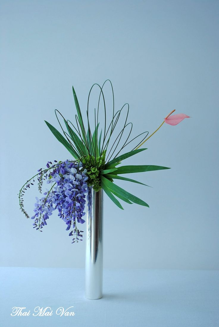 Ikebana 170 best Modern Flower Arrangements images