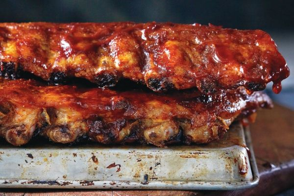 Canada's Ultimate Barbecue-Smoked Ribs -- something for Canada Day #canadaday