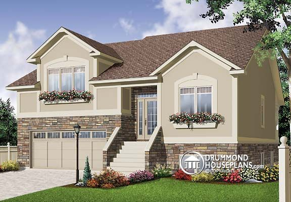 House plan W3468, five bedrooms European and Mediterranean house ...