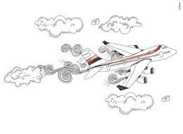 Vliegtuig tekening uit violetta's dagboek