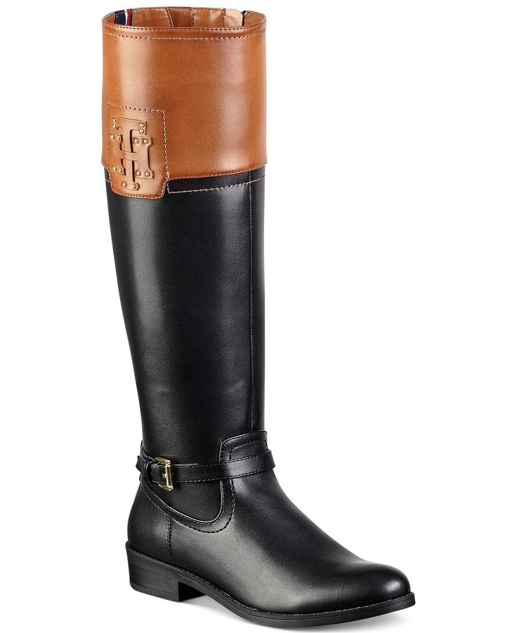 Tommy Hilfiger Drea Riding Boots - Boots - Shoes - Macy's