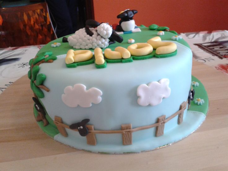 Shaun the Sheep Cake 4