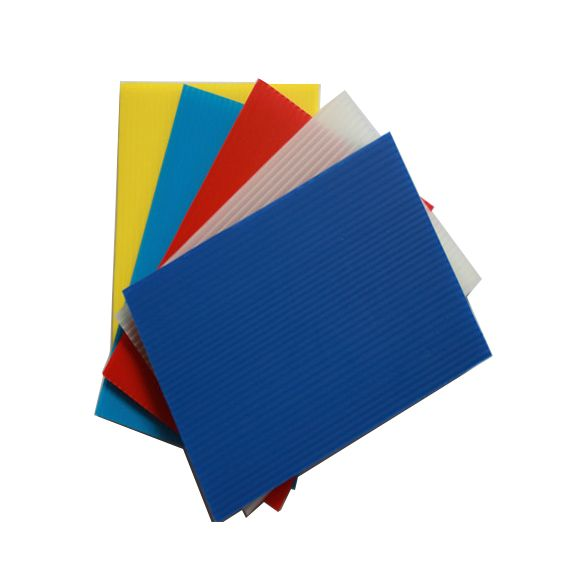 Fire Resistant Polypropylene Corrugated Plastic 4mm Pp Flute Board Blue Coroplast Sheet Aluminumcorrug With Images Corrugated Plastic Corrugated Plastic Sheets Corrugated