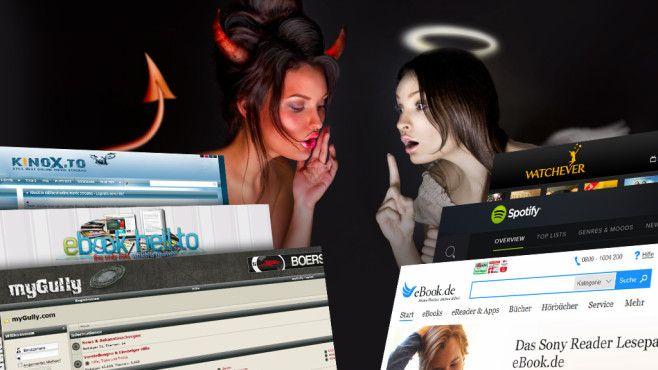 Kinox.to, boerse.bz, ebook-hell: Illegale Portale im Test Schwarze Schafe: Illegale Downloadportale sind nicht nur rechtlich eine Gefahrenzone – es lauert auch viel Schadsoftware.